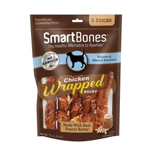 Smartbones Chicken Wrapped Sticks For Dogs