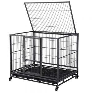 Yaheetech 43 Inch Heavy Duty Metal Dog Cage
