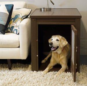Ecoflex Large Pet Crate End Table