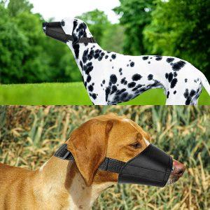 Ewinever Dog Muzzles Suit