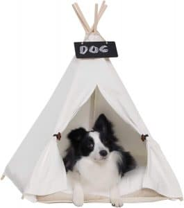 Little Dove Small Pet Teepee Dog Bed