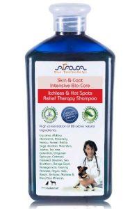 Arava Natural Medicated Dog Shampoo – Antibacterial Antifungal Anti Yeast