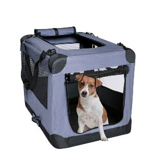 Arf Pets Dog Soft Crate Kennel For Pet Indoor Home & Outdoor Use