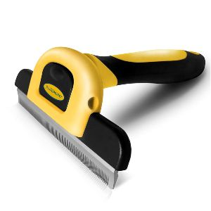 Dakpets Deshedding Brush Dog Hair & Cat Hair Shedding Tool Effective Grooming Tool For Cats Dogs