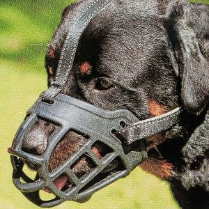 Dog Muzzle,soft Basket Silicone Muzzles For Dog, Best To Prevent Biting