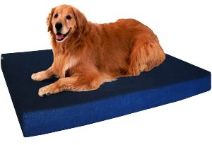 Dogbed4less Premium Memory Foam Dog Bed, Pressure Relief Orthopedic