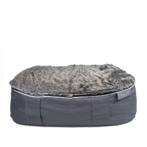 Furhome Collective Outdoor And Indoor Dog Beds For Medium Dogs With Removable Faux Fur