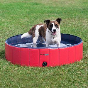 Frontpet Foldable Dog Pool Pet Bathing Tub