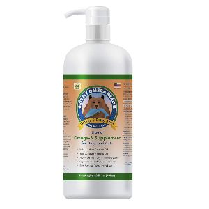 Grizzly Omega Health For Dogs & Cats, Wild Salmon Pollock Oil