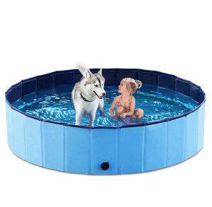 Jasonwell Foldable Dog Pet Bath Pool Collapsible