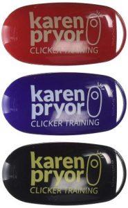 Karen Pryor I Click Dog Training Clicker, 3 Clickers