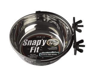 Midwest Homes For Pets Snap'y Fit Stainless Steel Food Bowl Pet Bowl