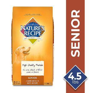 Nature's Recipe Senior Dog Food