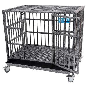 Parpet Heavy Duty Empire Dog Crate Strong Metal Pet Kennel Cage