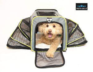 Pets Go2 Premium Pet Carrier For Dogs & Cats