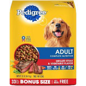 Pedigree Adult Dry Dog Food Grilled Steak & Vegetable Flavor