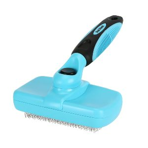 Pet Neat Self Cleaning Slicker Brush Effectively Reduces Shedding