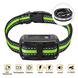 Petyeah Dog Bark Collar 5 Adjustable Sensitivity And Intensity Levels Dual Anti Barking Modes