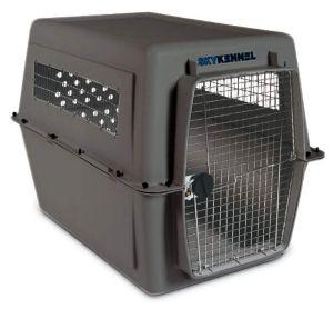 Petmate Sky Kennel Pet Carrier, Grey