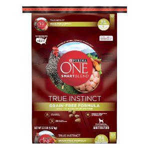 Purina One Smartblend True Instinct Natural Grain Free Formula Adult Dry Dog Food