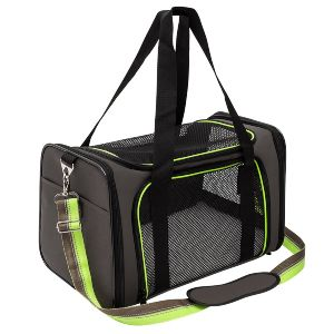 Soft Sided Pet Travel Carrier, Airline Approved Dog Cat Carrier For Medium Puppy And Cats