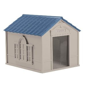 Suncast Outdoor Dog House With Door Water Resistant And Attractive For Small To Large Sized Dogs