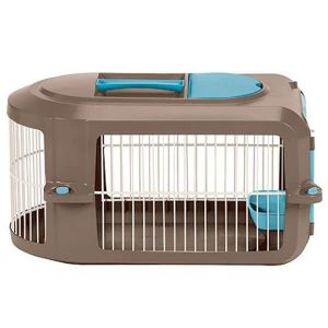 Suncast Portable Dog Crate With Handle For Small And Medium Dogs