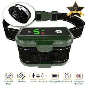 Tbi Pro Dog Bark Collar Effective K9 Professional Smart Barking Detection Rechargeable With Triple Anti False Modes Beep