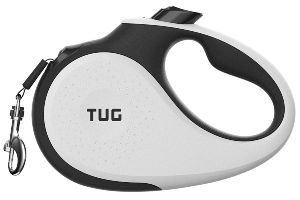 Tug Patented 360° Tangle Free, Heavy Duty Retractable Dog Leash With Anti Slip Handle