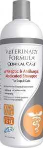 Veterinary Formula Clinical Care Antiseptic And Antifungal Shampoo For Dogs And Cats