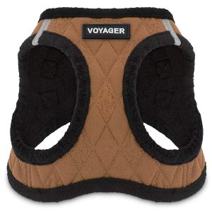 Voyager Step In Soft Plush Dog Vest Harness For Small And Medium Dogs By Best Pet Supplies