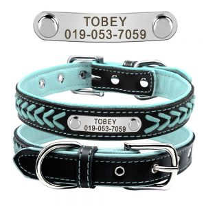 7. Didog Leather Custom Collar