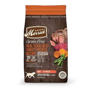 8. Merrick Grain Free Dry Dog Food