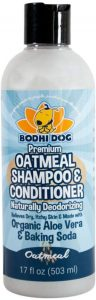 All Natural Anti Itch Oatmeal Spray Or Shampoo For Dogs And Cats