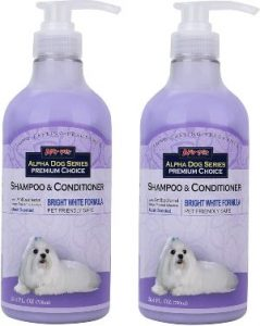 All Natural, Hypoallergenic Whitening Shampoo + Conditioner With Aloe Vera Antibacterial