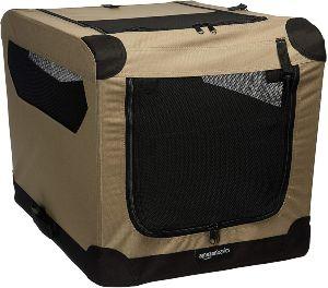 Amazonbasics Folding Soft Dog Pet Crate Kennel