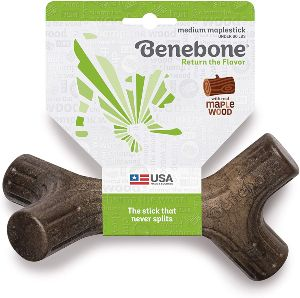Benebone Maplestick Real Wood Durable Dog Stick Chew Toy