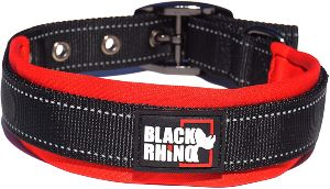 Black Rhino The Comfort Collar Ultra Soft Neoprene Padded Dog Collar For All Breeds Heavy Duty Adjustable Reflective Weatherproof (1)