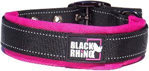 Black Rhino The Comfort Collar Ultra Soft Neoprene Padded Dog Collar For All Breeds Heavy Duty