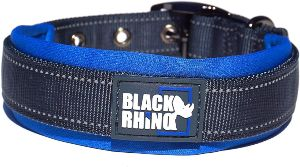 Black Rhino The Comfort Collar Ultra Soft Neoprene Padded Dog Collar For All Breeds