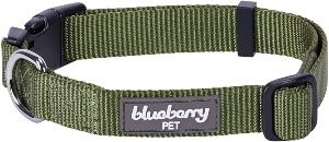 Blueberry Pet Essentials 22 Colors Classic Solid Color Collection Regular Collars (1)