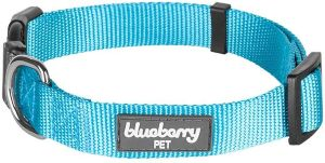 Blueberry Pet Essentials 22 Colors Classic Solid Color Collection Regular Collars
