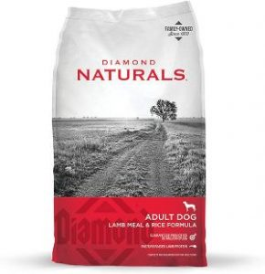 Diamond Naturals Adult Real Meat Recipe Premium Dry Dog Food With Real Pasture Raised Lamb Protein