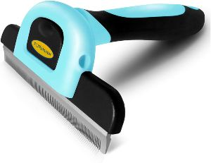 Dakpets Deshedding Brush Dog Hair & Cat Hair Shedding Tool Effective Grooming Tool