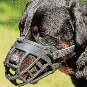 Dog Muzzle,soft Basket Silicone Muzzles For Dog, Best To Prevent Biting, Chewing And Barking, Allows Drinking And Panting, Used With Collar (3)