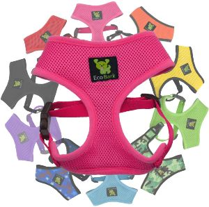 Ecobark Classic Dog Harness Soft Gentle No Pull & No Choke Dog Harnesses Double Padded Halter Ultra