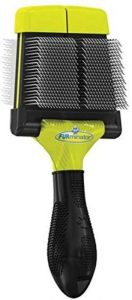 Furminator Soft Grooming Slicker Brush, Dogs, Small Or Large