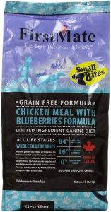 Firstmate Pet Foods Chicken With Blueberries Small Bites,