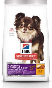 Hill's Science Diet Dry Dog Food, Adult, Small & Mini Breeds, Sensitive Stomach & Skin, Chicken Recipe