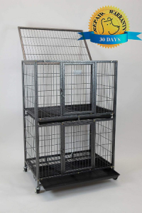 Homey Pet New 31 Pet Cage And Durable Plastic Black Tray For 31 Two Tier Cage